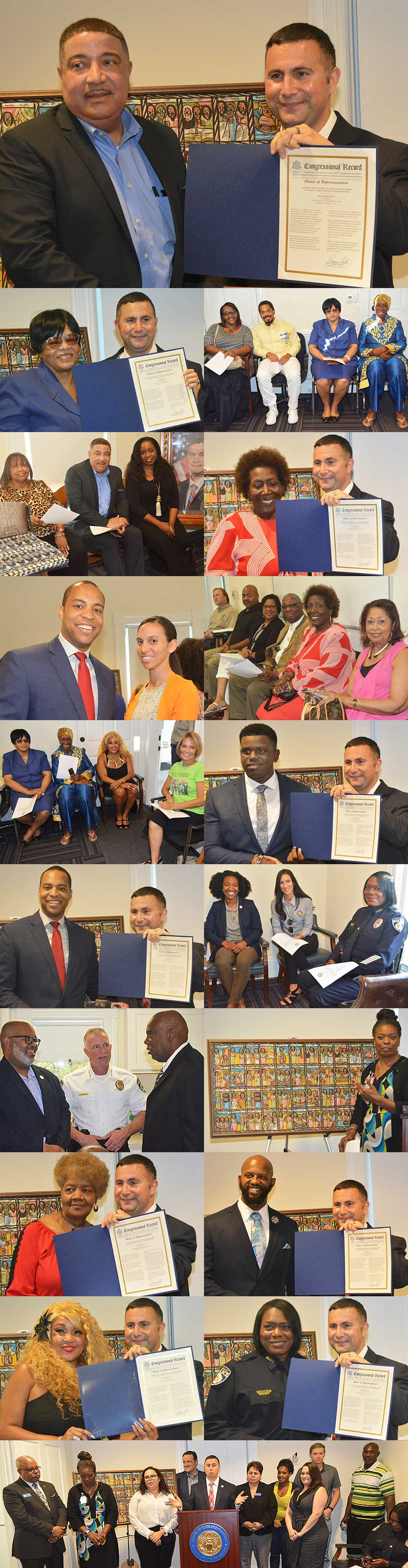 Rep.Soto Honors 20 for Black History Month