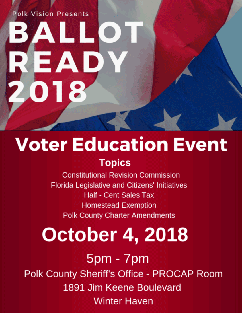Ballot Ready 2018 - Voter Education Event