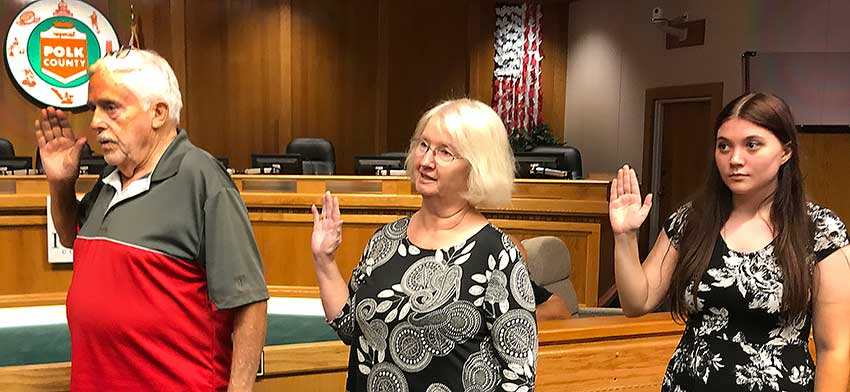 Congratulations to the 3 new Precinct Committeepersons sworn in tonight - William A Quinlan Jr., Janell Marmon, and Kala Ivy Tedder.