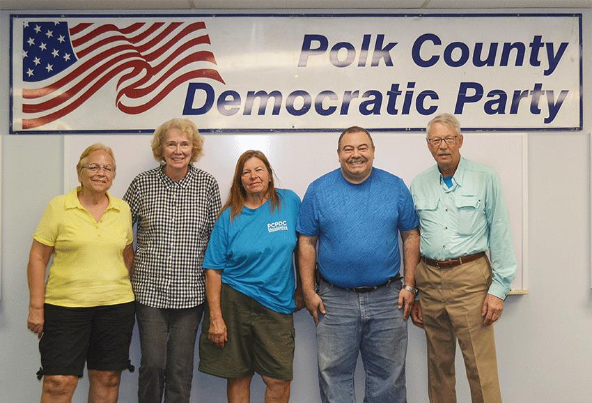 Polk County Progressive Democratic Caucus Board 2019-20