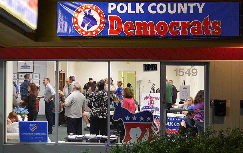 Polk Democrats Celebrate Opening of Our Lakeland Office, Feb. 20, 2019