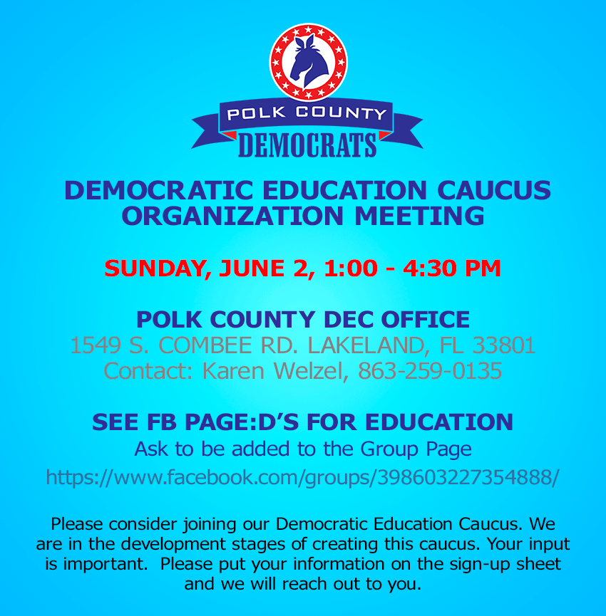 Support Strong Public Education in Polk County!