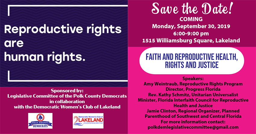 Reproductive Rights - Sept. 30, 2019