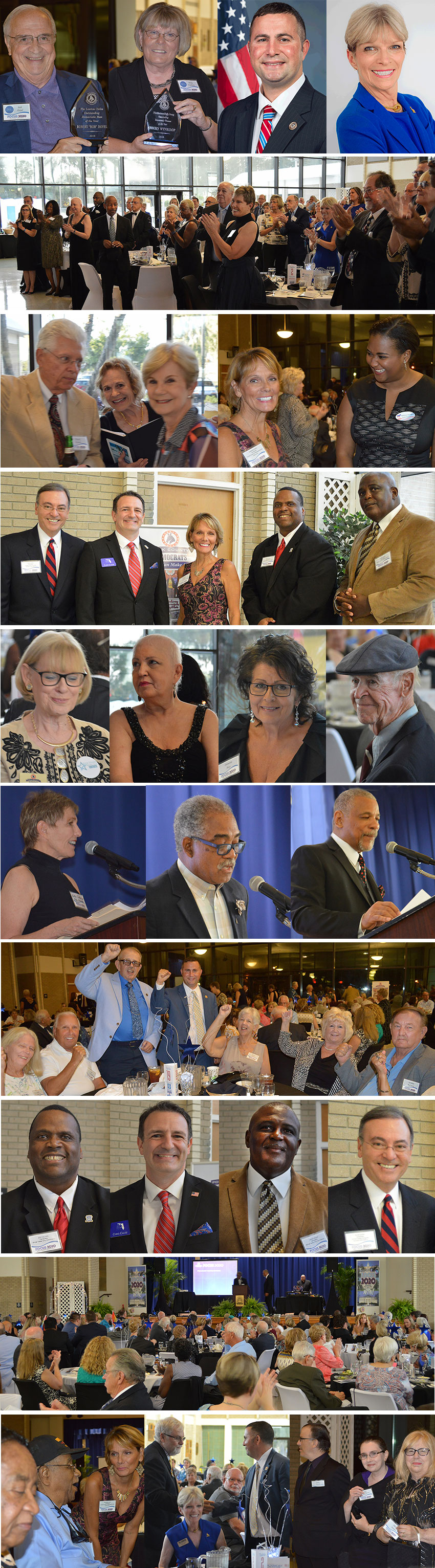 Scenes from our FOCUS 2020 Polk Co. Dems' Gala