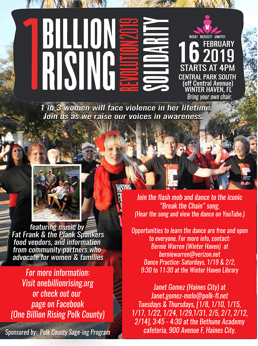 RESIST! - February 16, 2019 in Winter Have, FL