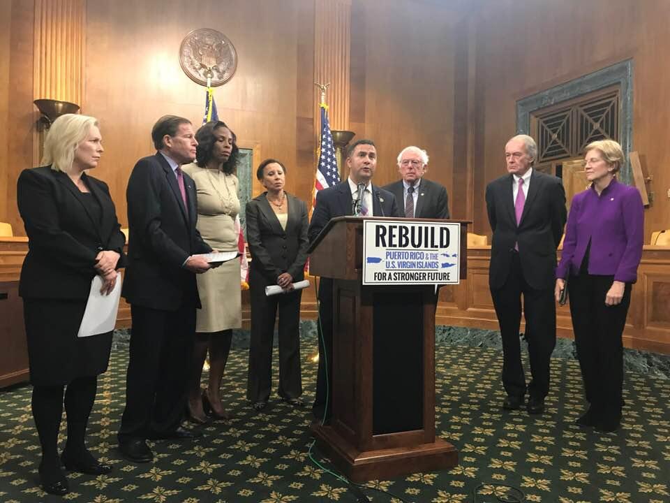 Re. Darren Soto joins Se. Bernis Sanders in Rebuild PR Efforts