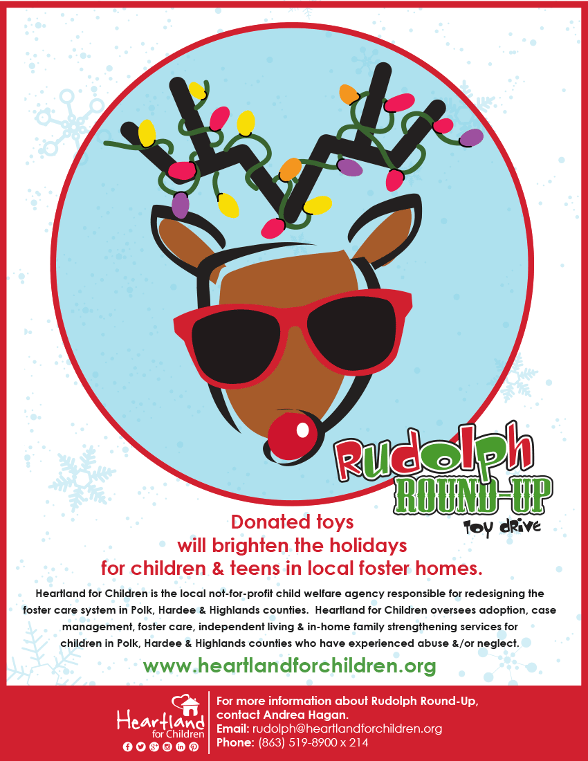 Rudolph Round-Up Toy Drive