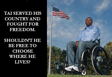 Tai served his country and fought for freedom.  Shouldn't he be free to choose where he lives?
